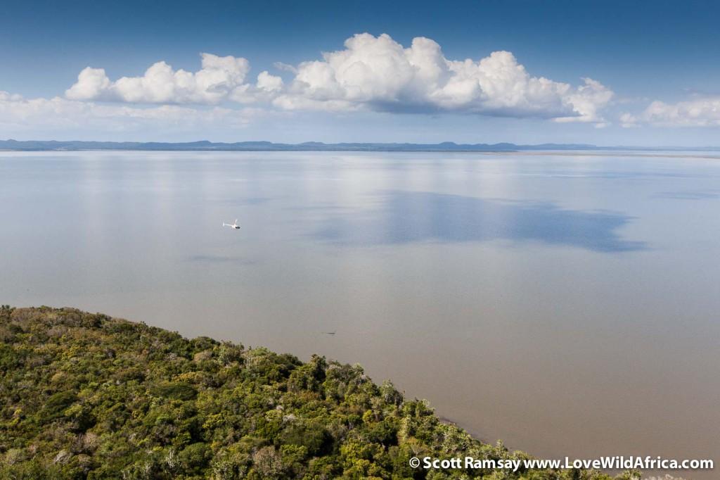 iSimangaliso Wetland Park in KwaZulu-Natal in South Africa.
