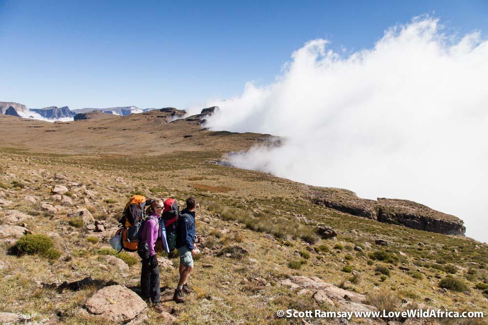 uKhahlamba-Drakensberg in  KwaZulu-Natal in South Africa.