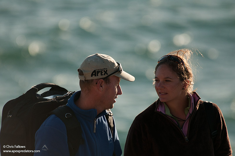 Chris and Monique Fallows of Apex Predators in Cape Town, South Africa.