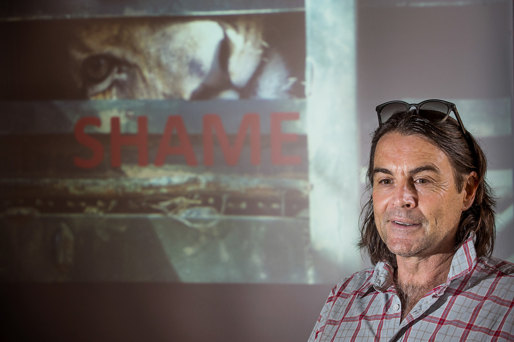 Ian Michler has researched and campaigned against canned lion hunting for almost two decades.
