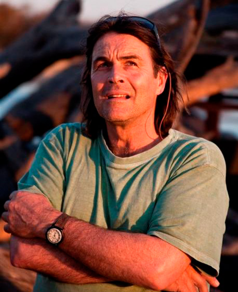 Conservationist, film producer and guide Ian Michler